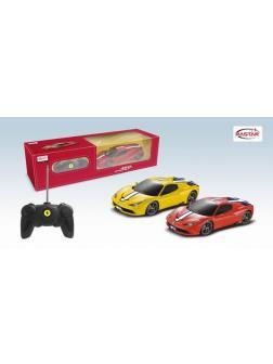 Машинка на радиоуправлении RASTAR Ferrari 458 Speciale A, 1:24