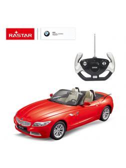 Машинка на радиоуправлении RASTAR BMW Z4 цвет красный, 1:12
