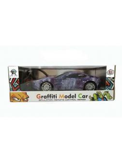 Машинка на радиоуправлении JUNFA Graffiti Model 1:18, 31х13,5х10,5 см