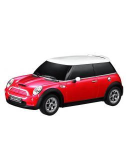 Машинка на радиоуправлении RASTAR Minicooper S, цвет красный 27MHZ, 1:18