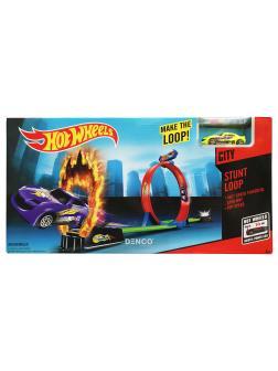 Игровой набор Hot Wheels «Мертвая петля с Огненным кольцом»