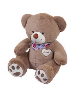 Мягкая игрушка Медведь плюшевый хагс короткошерстный латте 50 см