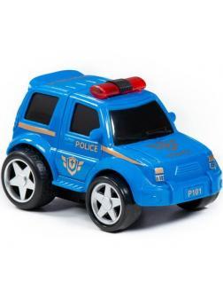 Автомобиль Крутой Вираж полиция инерционный ,(в коробке)