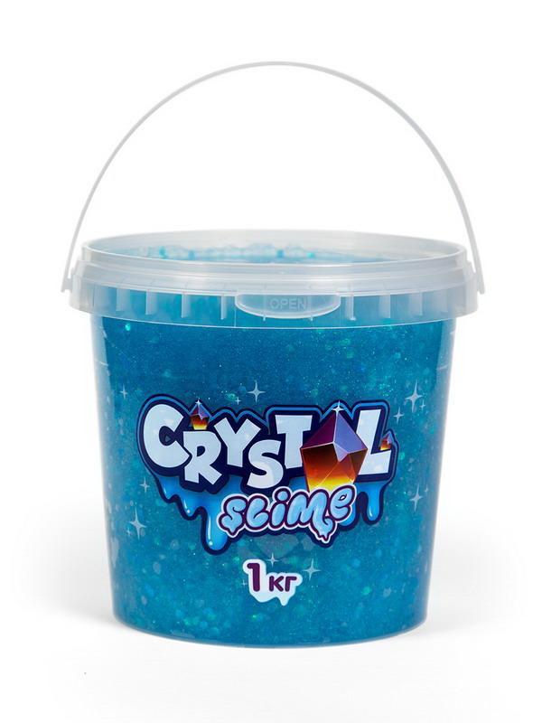 Слайм Slime Crystal голубой, 1 кг