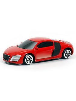 Машинка металлическая Uni-Fortune RMZ City 1:64 Audi R8 V10, без механизмов, (красный)