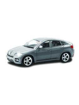 Машинка металлическая Uni-Fortune RMZ City 1:43 BMW X6 , без механизмов, цвет серый, 12,5 x 5,6 x 5,9 см