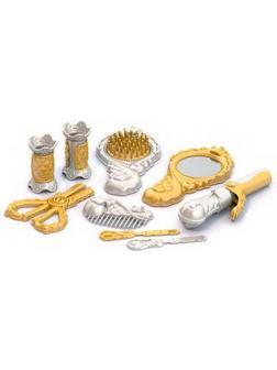 Парикмахерский набор (золото) (9 пред. В пакете) 27х13,5х4 см.