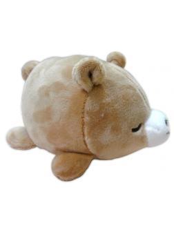 Super soft. Медвежонок коричневый, 13 см игрушка мягкая
