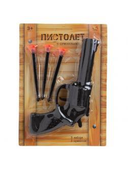 Пистолет со стрелами на присосках PT-01343 / AbToys