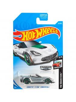Машинка Базовая модель Hot Wheels «Corvette C7 Z06 Convertible» 5/5