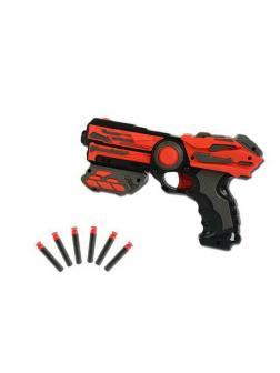 Мегабластер, в наборе с 6 мягкими снарядами PT-00811 / ABtoys