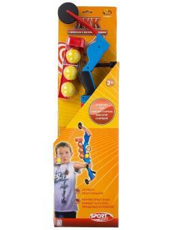 Игровой набор Лук пластмассовый с прицелом, в наборе с 3-мя мягкими снарядами S-00052 / ABtoys