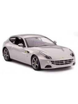 Машинка на радиоуправлении RASTAR Ferrari FF, цвет серебряный 27MHZ, 1:24