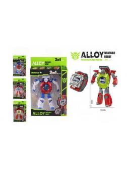 Робот-трансформер, трансформация в часы
