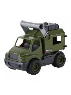 Автомобиль военный фургон КонсТрак (в сеточке)