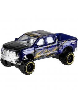 Машинка Базовая модель Hot Wheels «'19 Chevrolet Silverado Trail Boss LT» 1/10