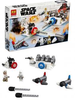 Конструктор Lari «Разрушение генераторов на Хоте» 11418 (Star Wars 75239) / 247 деталей