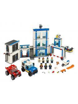 Конструктор LEGO City Police 60246 «Полицейский участок» /  743 детали