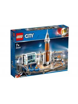 Конструктор LEGO City Space Port 60228 «Космическая ракета и пункт управления запуском» / 837 деталей