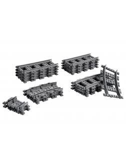 Конструктор LEGO City Trains 60205 «Рельсы» / 20 деталей