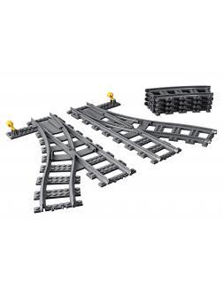 Конструктор LEGO City Trains 60238 «Железнодорожные стрелки» / 8 деталей