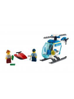 Конструктор LEGO City Police 60275 «Полицейский вертолёт» / 51 деталь