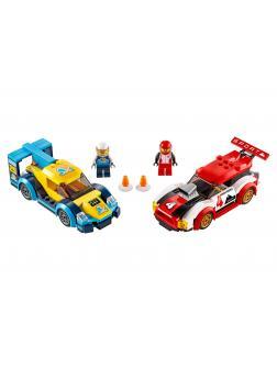 Конструктор LEGO City Nitro Wheels 60256 «Гоночные автомобили» / 190 деталей