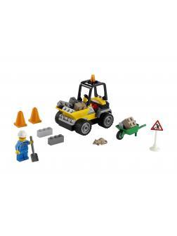 Конструктор LEGO City Great Vehicles 60284 «Автомобиль для дорожных работ» / 58 деталей