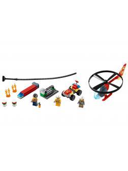 Конструктор LEGO City Fire 60248 «Пожарный спасательный вертолёт» / 93 детали