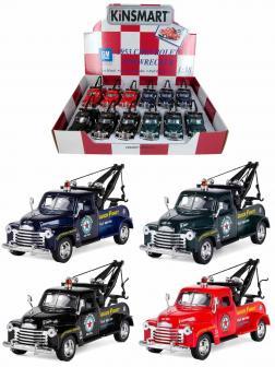 Металлическая машинка Kinsmart 1:38 «1953 Chevrolet 3100 Wrecker» KT5033D инерционная / Микс
