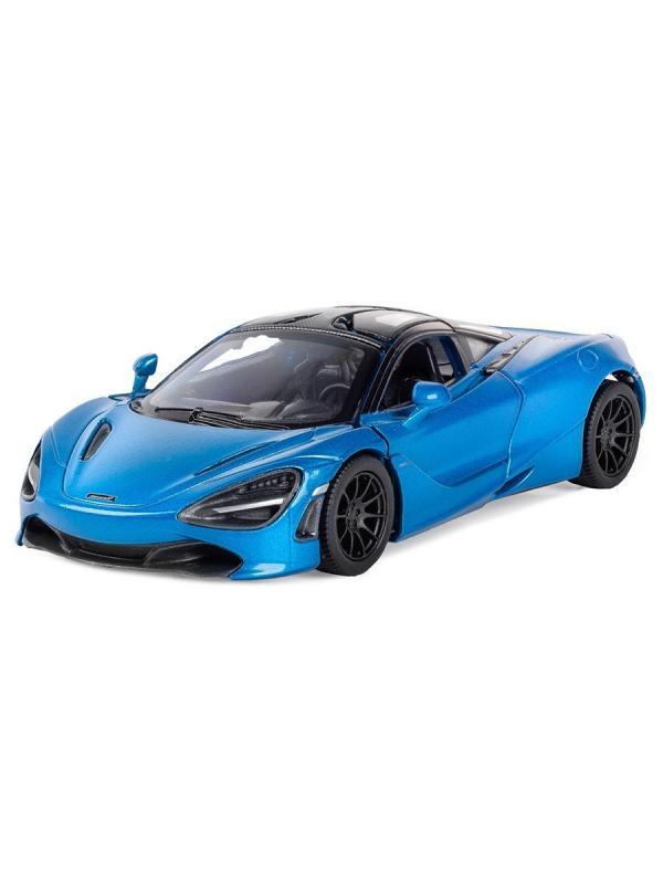 Машинка металлическая Kinsmart 1:36 «McLaren 720S» KT5403W инерционная в коробке / Микс