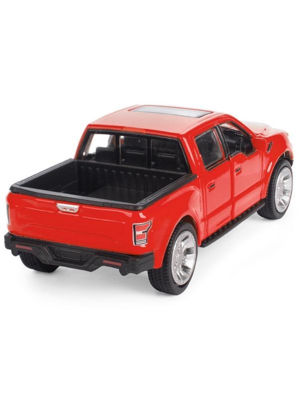 Металлическая машинка Play Smart 1:50 «Ford F-150» 9,5 см. 6530D Fast Wheels, инерционная / Микс