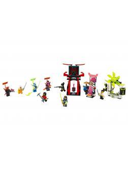 Конструктор LEGO NINJAGO 71708 «Киберрынок» 218 деталей