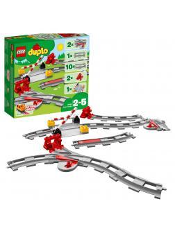 Конструктор LEGO Duplo «Рельсы» 10882 / 23 детали