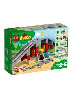Конструктор LEGO Duplo «Железнодорожный мост» 10872 / 26 деталей