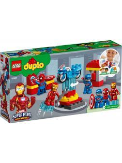 Конструктор LEGO Duplo Marvel «Лаборатория супергероев» 10921 / 30 деталей