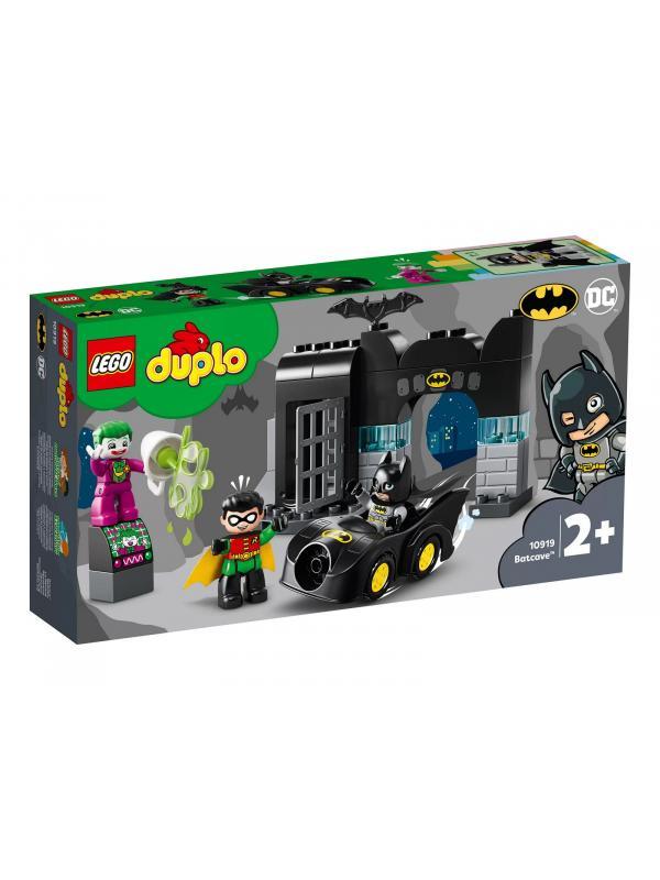 Конструктор LEGO Duplo DC Comics «Бэтпещера» 10919 / 33 детали