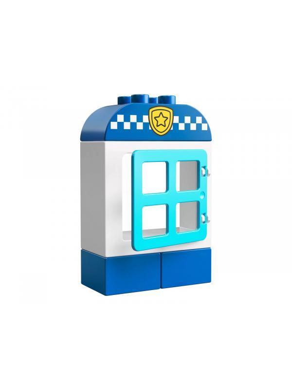 Конструктор LEGO Duplo Town «Полицейский мотоцикл» 10900 / 8 деталей