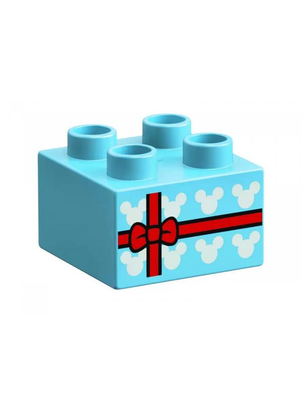 Конструктор LEGO Duplo «Праздничный поезд Микки и Минни» 10941 / 22 детали