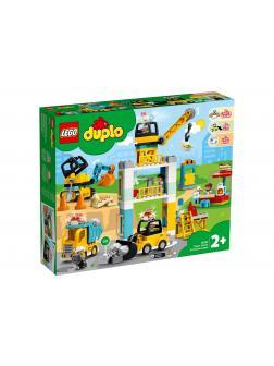 Конструктор LEGO Duplo Town «Башенный кран на стройке» 10933 / 123 детали