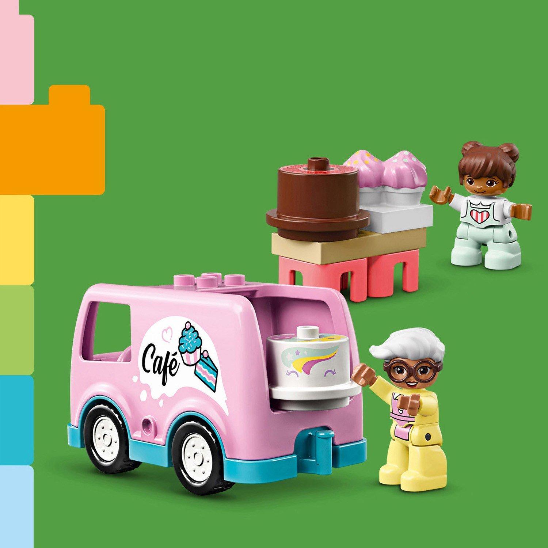 Конструктор LEGO Duplo Town «Пекарня» 10928 / 46 деталей
