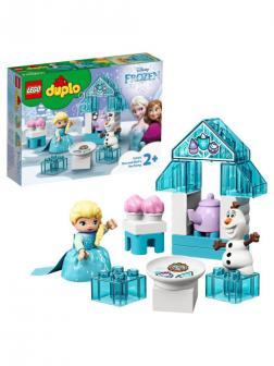 Конструктор LEGO DUPLO Disney Princess 10920 Чаепитие у Эльзы и Олафа / Куклы, 17 деталей