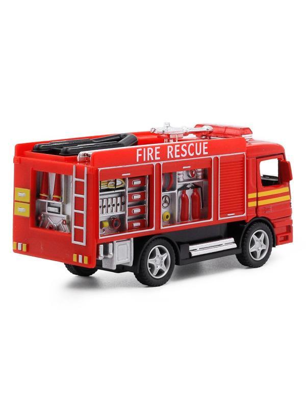Металлическая машинка KinsFun 1:32 «Rescue Fire Engine» KS5110D инерционная
