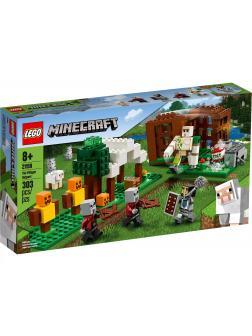 Конструктор LEGO Minecraft «Аванпост разбойников» 21159 / 303 детали