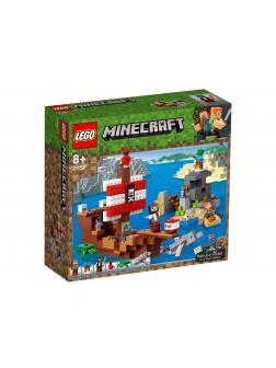Конструктор LEGO Minecraft «Приключения на пиратском корабле» 21152 / 386 деталей