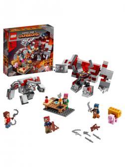 Конструктор LEGO Minecraft 21163 Битва за красную пыль, 504 детали