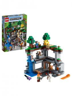 Конструктор LEGO MINECRAFT 21169 Первое приключение, 542 детали