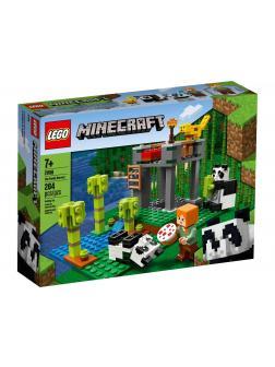 Конструктор LEGO Minecraft «Питомник панд» 21158 / 204 детали