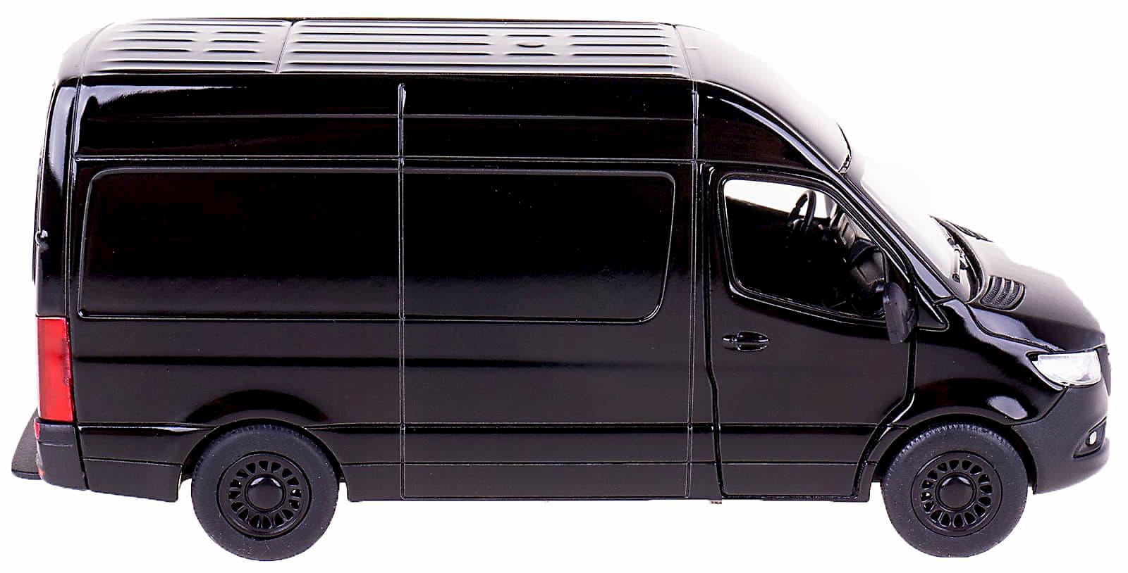 Металлическая машинка Kinsmart 1:48 «Mercedes-Benz Sprinter» KT5426W, инерционная в коробке / Микс