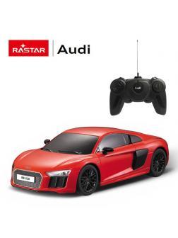 Машинка на радиоуправлении RASTAR AUDI R8 2015 Version цвет красный, 1:24